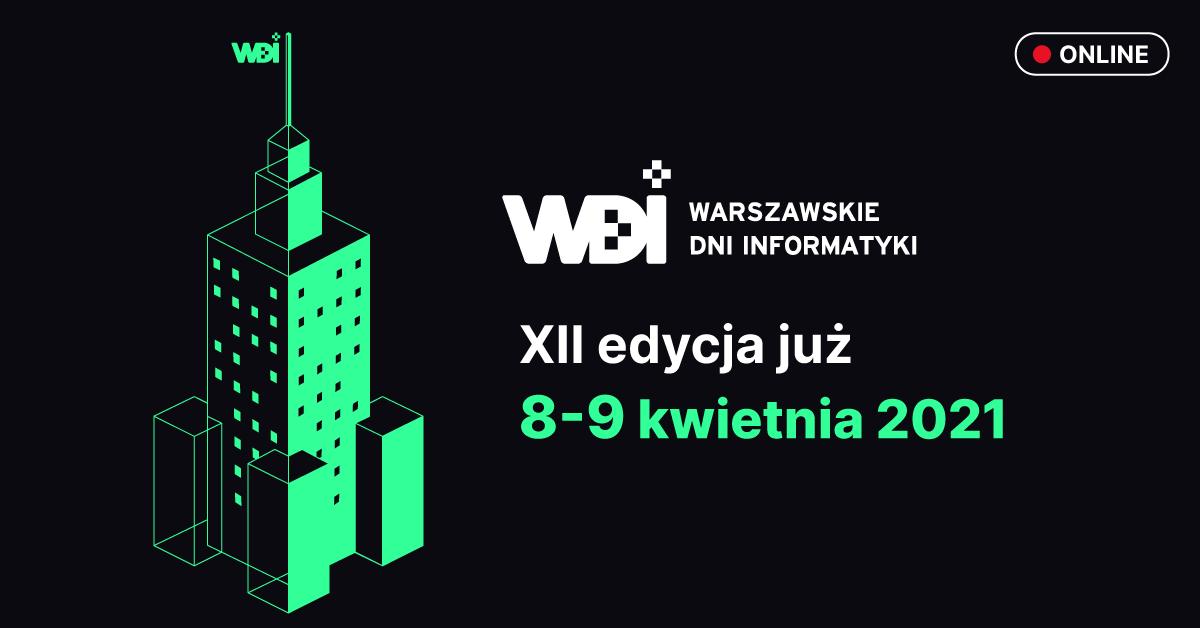 Warszawskie Dni Informatyki 2021